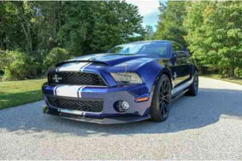 2012 Shelby GT500 Supersnake