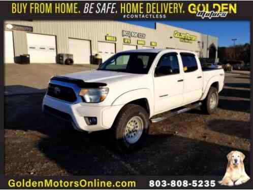 2012 Toyota Tacoma 4WD Double Cab TRD Off Road