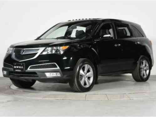 Acura MDX Tech/Entertainment Pkg (2013)