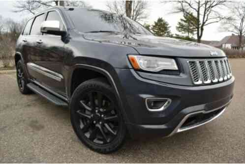 2013 Jeep Grand Cherokee 4X4 OVERLAND-EDITION(STICKER NEW WAS $49, 650)
