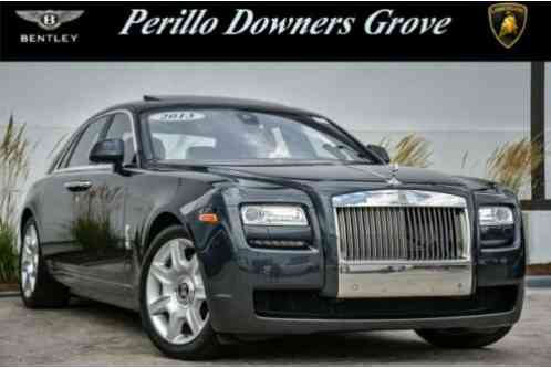 Rolls-Royce Ghost w/Rear Theater & (2013)