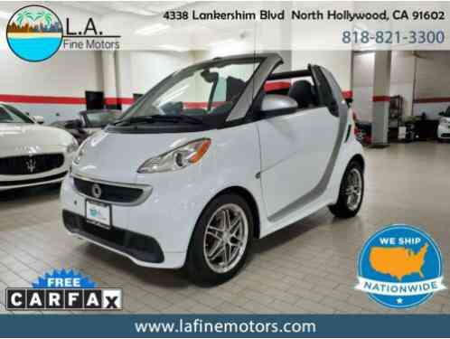 Smart Fortwo passion Cabriolet with (2013)