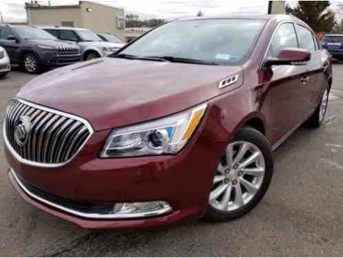 2014 Buick Lacrosse Leather Sedan 4-Door