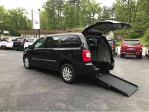 2014 Chrysler Town & Country Touring. handicap wheelchair accessible van