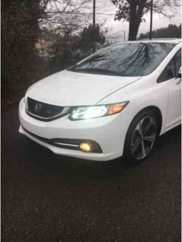 Honda Of Cleveland Tn >> Honda Civic SI 2014, white, only 31k miles, Runs and drives great, 2, 4l