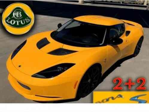 Lotus Evora S 2+2 SUPERCHARGED (2014)