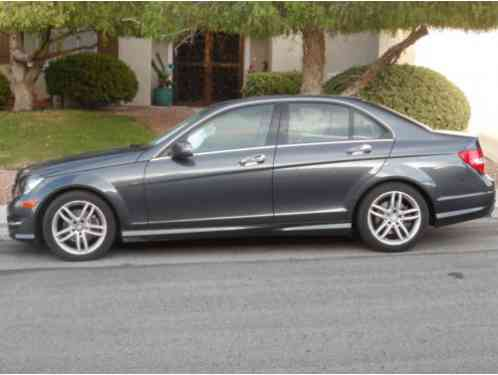 Mercedes-Benz C-Class 4 Door Sedan (2014)