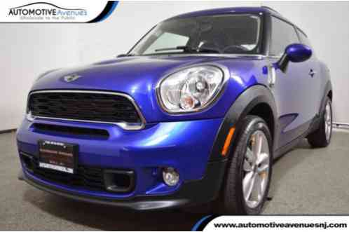 Mini Paceman S ALL4 (2014)