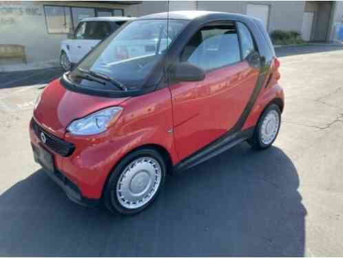 Smart fortwo Pure Hatchback Coupe (2014)