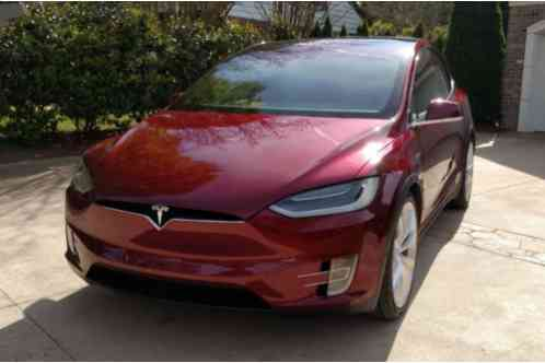 2014 Tesla Model X Founders Red Edition