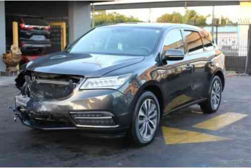 Acura MDX TECHNOLOGY (2015)