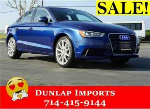 2015 Audi A3 DIESEL TDI SEDAN SPORTS LOADED