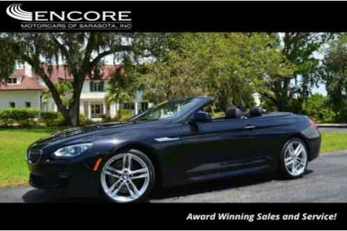 BMW 6-Series 640i Convertible (2015)