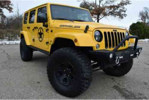 2015 Jeep Wrangler 4X4 UNLIMITED SAHARA-EDITION(ALTITUDE PACKAGE)