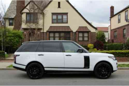 Land Rover Range Rover Supercharged (2015)