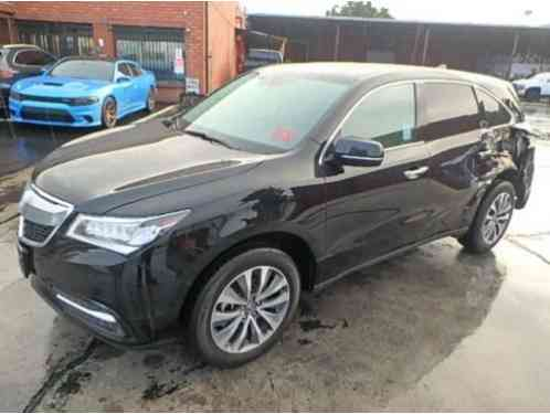 Acura MDX Salvage Wrecked (2016)