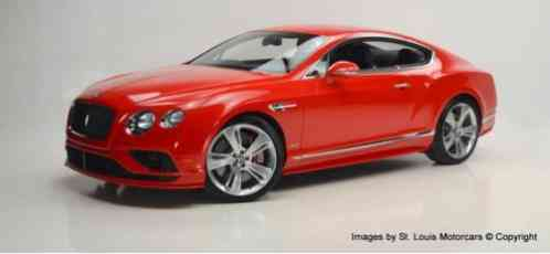 2016 Bentley Continental GT W12 Speed