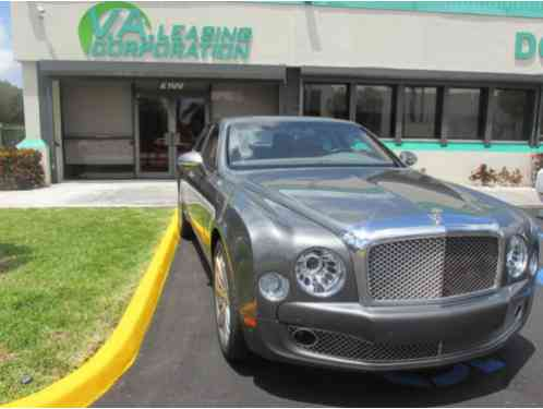 2016 Bentley Mulsanne / Window Sticker $375, 000