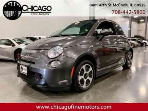 Fiat 500e Battery Electric (2016)
