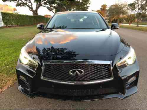 Infiniti Q50 NAVIGATION AND SUN (2016)