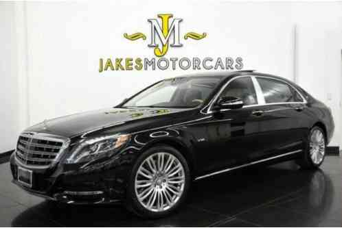 2016 Mercedes-Benz S-Class Maybach S600~$191, 975 MSRP~WARRANTY UNTIL 10/2020