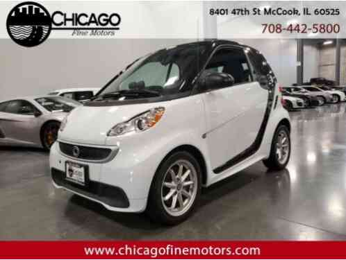 Smart Fortwo electric coupe (2016)