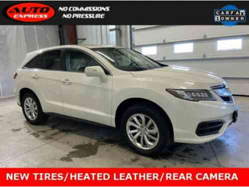 2017 Acura RDX AWD 18 Premium Alloys Sunroof Heated Leather Rear Camera