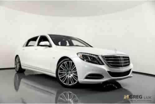 2017 Mercedes-Benz S-Class Maybach S 600