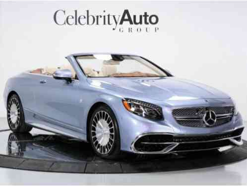 2017 Mercedes-Benz S-Class Maybach S650 Cabriolet 1 of 75 To The USA