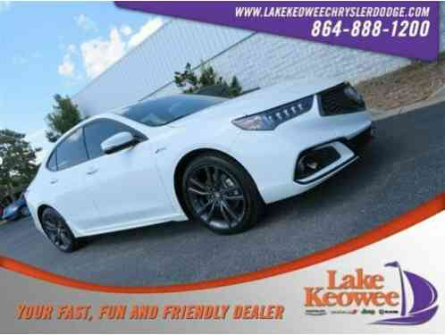 Acura TLX w/A-SPEC Pkg Red Leather (2018)