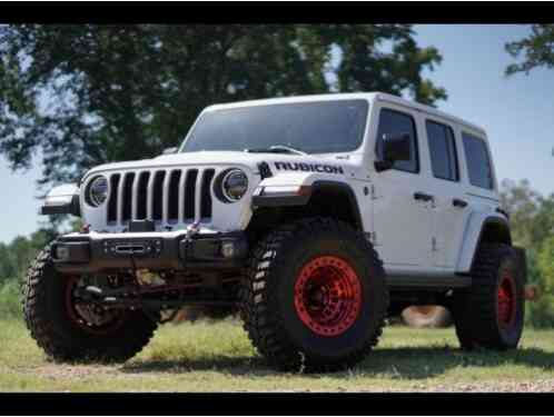 Jeep Wrangler Rubican 4wd Unlimited (2018)