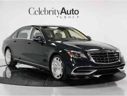 2018 Mercedes-Benz S-Class Maybach S650 Exec Seating Plus Magic Sky