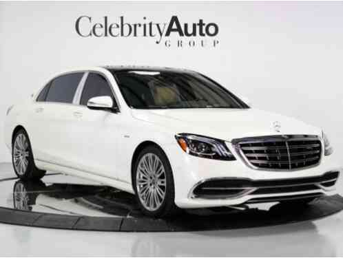 2018 Mercedes-Benz S-Class Maybach S650 Executive Rear Seat Pkg