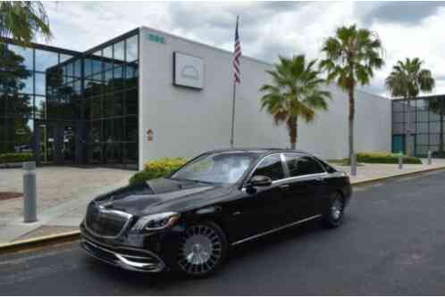 2019 Mercedes-Benz S-Class MAYBACH S650 $211, 495 MSRP LOADED WITH OPTIONS LIK
