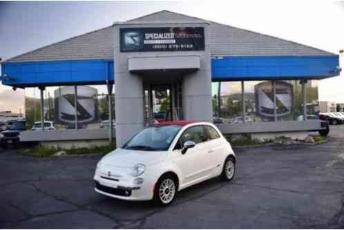 2013 Fiat 500 Lounge 2dr Convertible