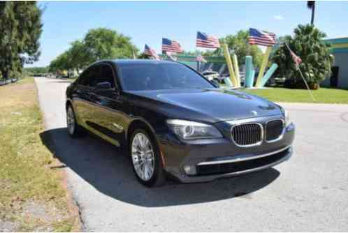 BMW 7-Series 740i 4dr Sedan (2011)