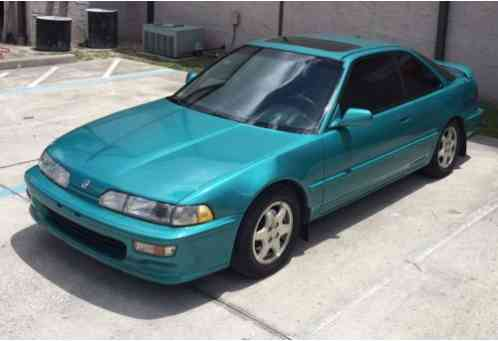 Acura Integra 1992 GSR COLOR Aztec Green DOHC VTEC B17 Motor 5spd Very