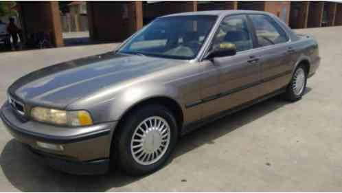 Acura Legend For Sale Is A Partly Restored Low Mileage Car - Acura legend 1991