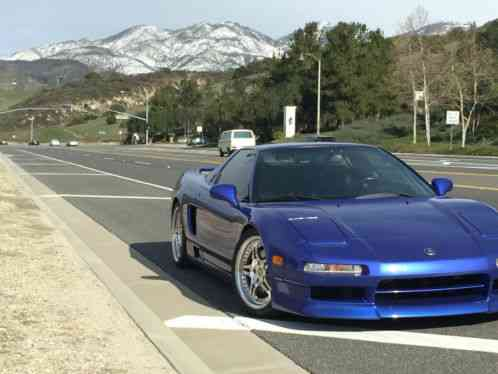 Acura Nsx 2000 I Am Selling My Monaco Blue T With 48 000 Miles On It