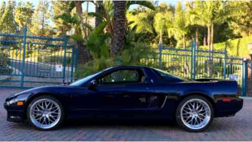 Acura Mdx Gas Mileage >> Acura NSX 1995, -T Midnight Purple w/ Tan leather interior, showroom