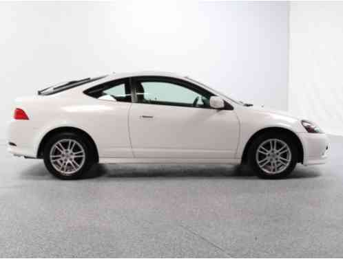 Acura RSX 2006 White With Leather InteriorNO ACCIDENTS 1 Owner Clean