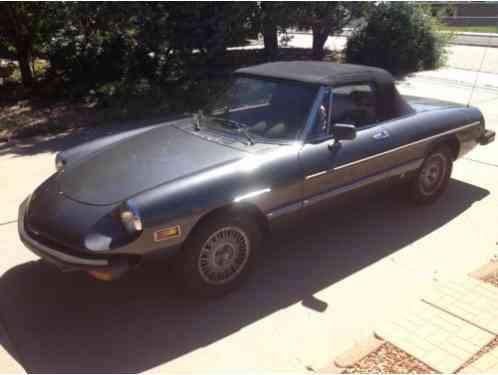 Alfa Romeo Spider Street Modified SCCA Rules Twincam Car For - 1979 alfa romeo spider for sale