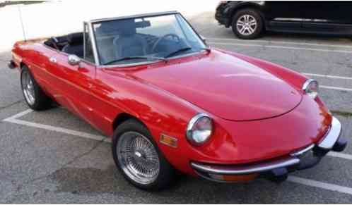 Alfa Romeo Spider Wow Absolutely Gorgeous Super Cute Ready - Alfa romeo spider 1974 for sale