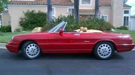 Alfa Romeo Spider Veloce Stunning Low Mileage Beauty - 1993 alfa romeo spider for sale