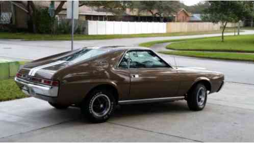 Amc Amx 1969 This Is A Rare Cordoba Brown 390 4 Spd With Power
