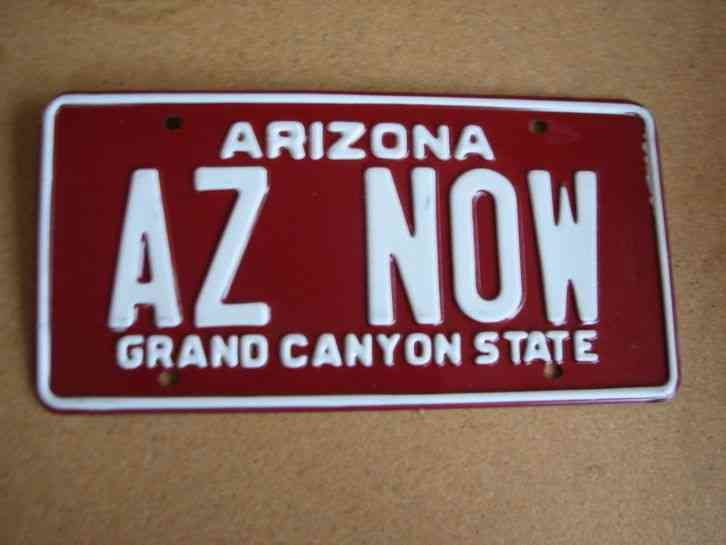 Arizona Personalized Plates >> Arizona Vanity License Plate Az Now Love The Grand Canyon