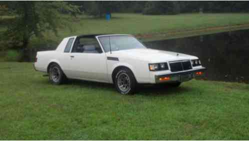 Buick T Type >> Buick Regal T Type 1986 Turbo T Top Same Drivetrain As Grand National