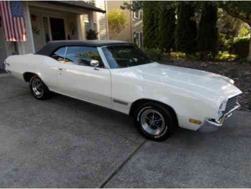Buick Skylark Convertible 1971 For