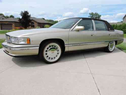 Cadillac Deville Only 28k Miles Mint Condition 1996 Sedan With Original