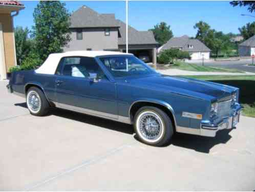 cadillac eldorado 1985 i purchased the car in 2007 with 32 000 miles cadillac eldorado 1985 i purchased the